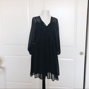 New Polka Dot Tunic Dress